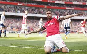 Selebrasi Pemain Arsenal