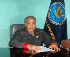Kepala BNNK Sumenep (Bambang Sutrisno)