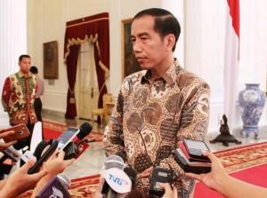 Jokowi diwawancara
