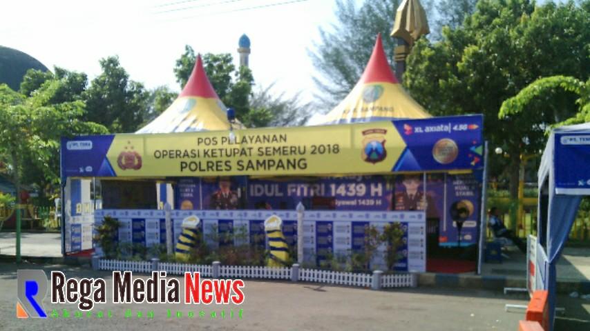 Pantau Arus Mudik - Balik Lebaran, Polres Sampang Dirikan 5 Pos ...