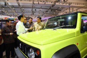 Presiden RI dorong Otomotif Nasional Untuk Lakukan Inovasi