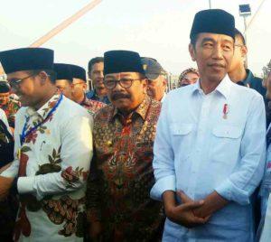 Melihat Kesiapan Panitia Pada Persiapan Acara Deklarasi Dukungan Ulama Madura Kepada Jokowi-KH.Makruf Amin