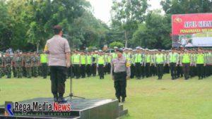 Pengamanan Tahun Baru 2019 di Bangkalan 441 Personel Gabungan Di Terjunkan