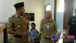 Sidak RSUD dr. Mohammad Zyn, Wabup Sampang Janji Segera Benahi Pelayanan