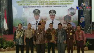 DPMPTSP Bangkalan Launching Pelayanan Administrasi  Perijinan Online