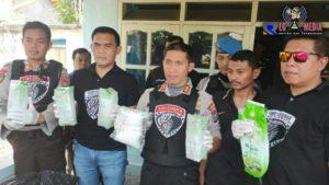 Tim Cobra Polres Lumajang Ungkap 5 Kg Sabu Jaringan Sokobanah Sampang
