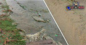 Warga Pilolalenga Keluhkan Genangan Air Bercampur Sampah Saat Turun Hujan