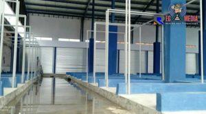 Baru Selesai Dibangun, Lantai Pasar Sentol Kedungdung Tergenang Air