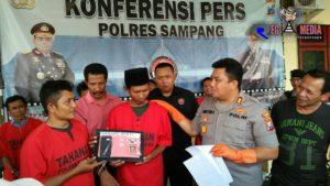 Brantas Narkoba, Polres Sampang Kembali Bekuk 6 Pengedar Sabu