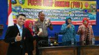 Cegah Corona, Satbinmas Polres Sampang Imbau Masyarakat Tetap Jaga Kebersihan
