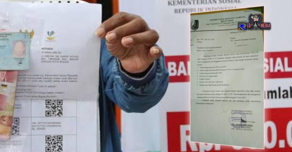 Dinsos Sampang Perbolehkan Mengganti Penerima BST Kemensos ...