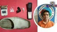 Simpan Barang Ini Di Sepatu, Pria Asal Sumenep Dipenjara