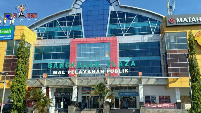Lokasi Mal Pelayanan Publik di Jalan Halim Perdana Kusuma, Mlajah, Bangkalan