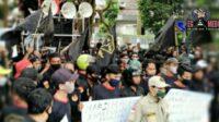 LSM Penjara Demo Disdik Jabar, Banyak Titipan Siswa Oleh Oknum Di PPDB 2020