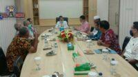 Dekan FEB Unsyiah Audensi Dengan Bupati Aceh Selatan, Ini Permintaannya