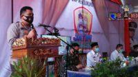Jatim Bermasker, Kapolres Sampang Ajak Masyarakat Lawan Covid-19