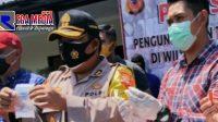 Polres Cimahi Ciduk Pengedar Narkoba Berkedok Penjual Baju
