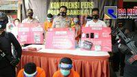 Polisi Ringkus Tujuh Pengedar Narkoba di Bangkalan