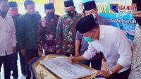 Bupati Sampang Resmikan Kantor Desa Tobai Barat Hasil ADD dan Swadaya Masyarakat