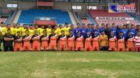 Ombaran FC Vs POR PERSWI Muda Pamekasan Gelar Laga Persahabatan di Stadion Ratu Pamellingan