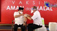 Vaksinasi Perdana, Ra Latif: Kapolres dan Wabup Bangkalan Tidak Ikut Disuntik Vaksin
