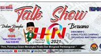 Edukasi Masyarakat, Rega Media News Gelar Talk Show Bersama Diskominfo dan Humas Polres Sampang