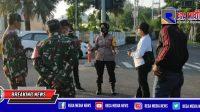 Polsek Kenjeran Surabaya Lakukan Penyekatan Skala Besar