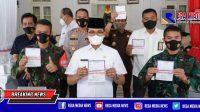 Vaksinasi Kedua, Salah Satu Forkopimda Bangkalan Tak Hadir