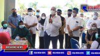 Kunker Ke Aceh Selatan, Sekda Aceh Ingatkan Pentingnya Vaksinasi Bagi Nakes