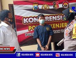 Satu Dari Dua Pelaku Curanmor Depan Warkop Tambak Wedi Surabaya Diringkus Polisi