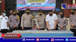 Puluhan Anggota Polres Sampang Mendadak Dites Urine