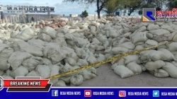 Polisi Segel Ratusan Karung Limbah di Pelabuhan Tapaktuan