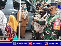 Ops Yustisi Tiga Pilar, Pelanggar Prokes di Surabaya Langsung Ditest Swab