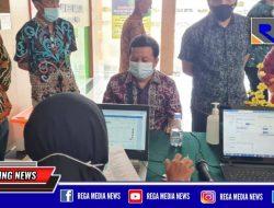 Bersama 16 OPD, Pegawai PN Bangkalan di Suntik Vaksin