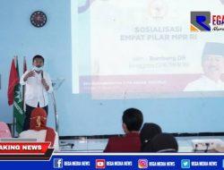 Bambang DH Lakukan Sosialisasi 4 Pilar di Sidoarjo