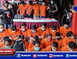 Puluhan Preman dan Pengedar SS di Bangkalan Diringkus