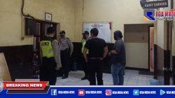 Sel Tahanan Mapolsek Pabean Cantikan Disidak