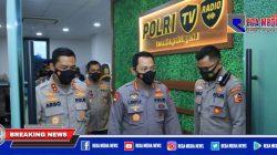 Launching Polri Tv dan Radio, Kapolri: Upaya Korps Bhayangkara Agar Dekat Dengan Masyarakat