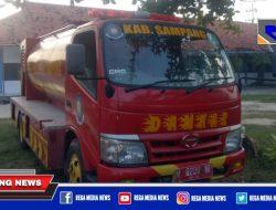 Miris, Nomor Posko Pemadam Kebakaran Sampang Dibiarkan Rusak