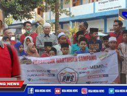 Ramadhan Berkah, Persatuan Wartawan Sampang Berbagi Sedekah