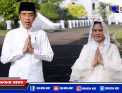 Presiden Jokowi dan Ibu Negara Sampaikan Ucapan Hari Raya Idul Fitri