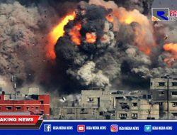Serangan Udara Israel Hantam Rumah di Gaza