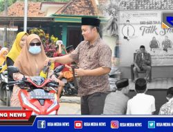 Ramadhan, Karang Taruna Desa Tlambah Berbagi Takjil & Gelar Talk Show