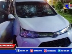 Kabur Usai Tabrak 3 Motor, Mobil Warga Sampang Diamuk Massa di Surabaya