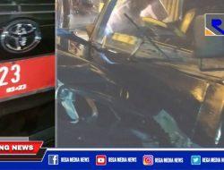 Terlibat Laka di Sampang, Plat Mobil Dinas Ketua Bawaslu Jatim Diduga Palsu