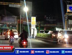 Lampu Traffic Light di Sampang Kota Dibiarkan Mati