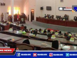 DPRD Sampang Gelar Paripurna, Sampaikan Rekomendasi Panja LHP BPK RI 2020