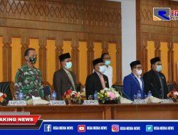 Rapat Paripurna DPRK Aceh Selatan Pertanggungjawaban APBK Tahun 2020