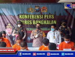 Pelaku Kejahatan di Bangkalan Diringkus Polisi