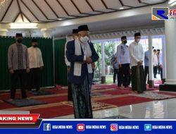 Wapres Ma'ruf Amin Laksanakan Sholat Idul Adha di Rumah Dinas
